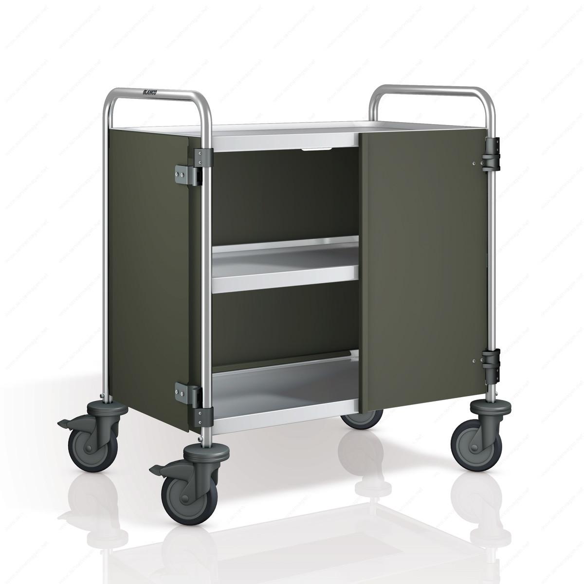 seitenwandverkleidung mit t ren f r sw8x5 2 bis sw8x5 3 servierwagen von blanco. Black Bedroom Furniture Sets. Home Design Ideas